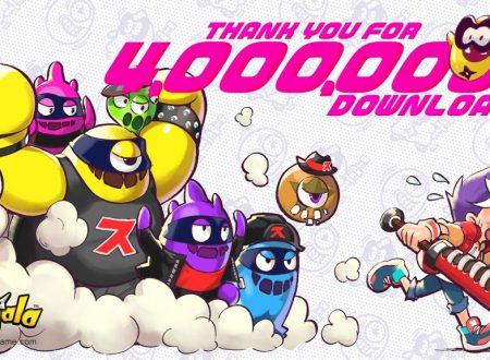 Ninjala: il titolo raggiunge i 4 milioni di download complessivi su Nintendo Switch
