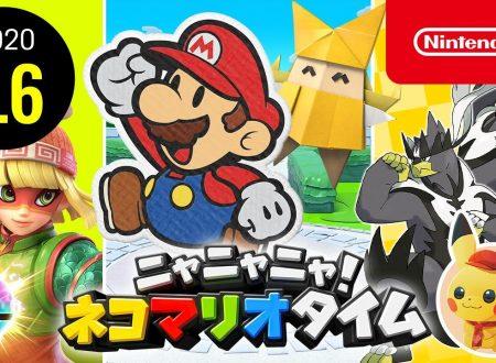 Nyannyan Neko Mario Time: pubblicato l'episodio del 6 agosto dello show felino con Mario e Peach