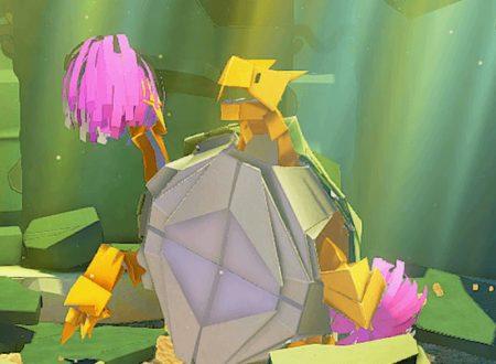 Paper Mario: The Origami King, il titolo aggiornato alla versione 1.0.1 sui Nintendo Switch europei