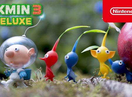 Pikmin 3 Deluxe: il titolo annunciato ed in arrivo il 30 ottobre su Nintendo Switch