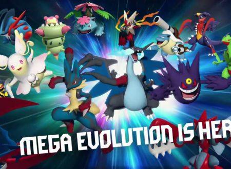 Pokèmon GO: pubblicato un nuovo trailer dedicato alle Megaevoluzioni, ora nel titolo mobile