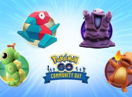 Pokèmon GO: svelate le votazioni per scegliere il Pokèmon del Community Day di settembre e ottobre