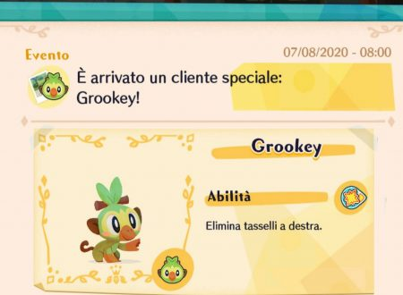 Pokémon Cafe Mix: svelato l'arrivo di nuovi stage evento con Grookey come protagonista