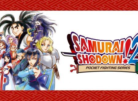 SAMURAI SHODOWN!2: uno sguardo in video al titolo NeoGeo Pocket dai Nintendo Switch giapponesi