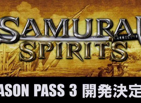 Samurai Shodown: annunciato ufficialmente l'arrivo del Season Pass 3
