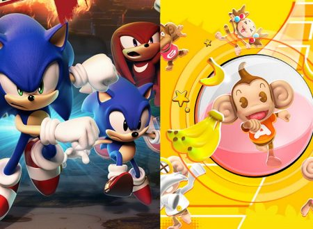 Sonic Forces + Super Monkey Ball: Banana Blitz – HD Double Pack, la raccolta listata per Nintendo Switch