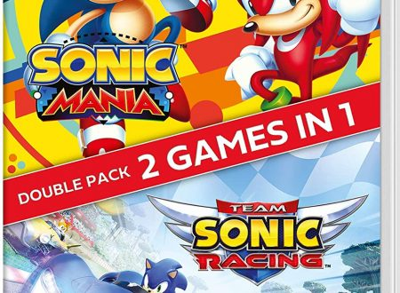 Sonic Mania + Team Sonic Racing Double Pack, la collection listata da Amazon per Nintendo Switch