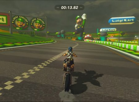 The Legend of  Zelda: Breath of the Wild, un video ci mostra il Luigi Circuit di Mario Kart Wii ricreato nel minigame del titolo