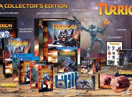 Turrican Anthology Vol. 1 e 2: le raccolte in arrivo prossimamente su Nintendo Switch