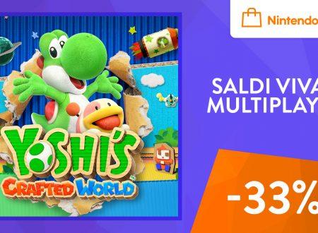 Yoshi's Crafted World: il titolo ora in sconto del 33% sull'eShop europeo di Nintendo Switch