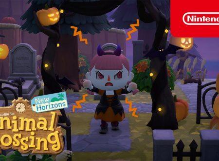 Animal Crossing: New Horizons, annunciato l'arrivo di un aggiornamento da brividi con Fifonio e nuovi oggetti per Halloween