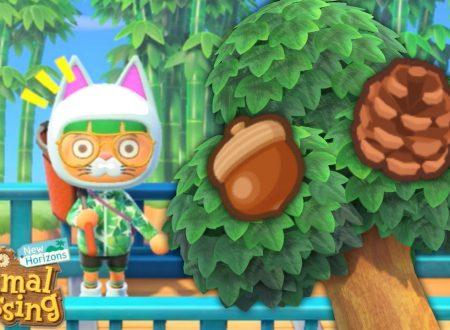 Animal Crossing: New Horizons, uno sguardo in video alla stagione Autunnale con Ghiande e Pigne