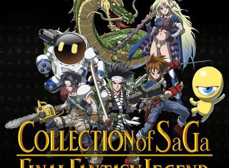 COLLECTION of SaGa FINAL FANTASY LEGEND: pubblicato un nuovo trailer dal TGS 2020