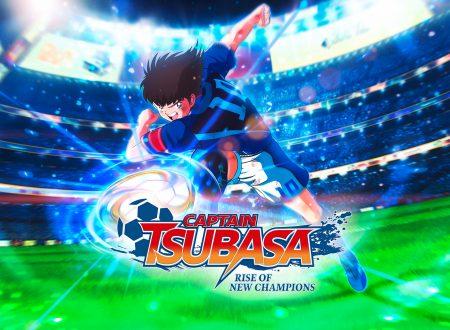 Captain Tsubasa: Rise of New Champions, il titolo aggiornato alla versione 1.02 sui Nintendo Switch europei
