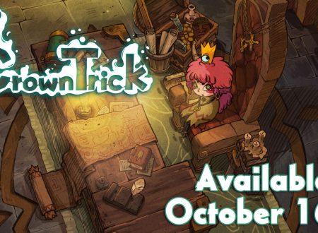 Crown Trick: il roguelike a turni in arrivo il 16 ottobre sull'eShop di Nintendo Switch