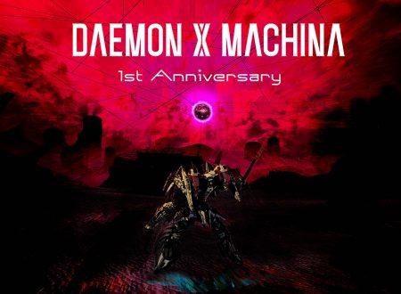 Daemon X Machina: annunciato un nuovo aggiornamento per il primo anniversario su Nintendo Switch