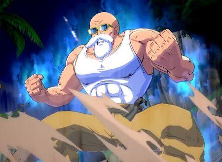 Dragon Ball FighterZ: pubblicato il trailer di lancio dedicato al DLC del Maestro Muten