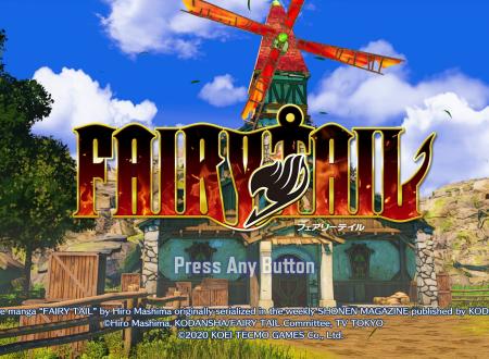 Fairy Tail: il titolo aggiornato alla versione 1.0.4 sui Nintendo Switch europei
