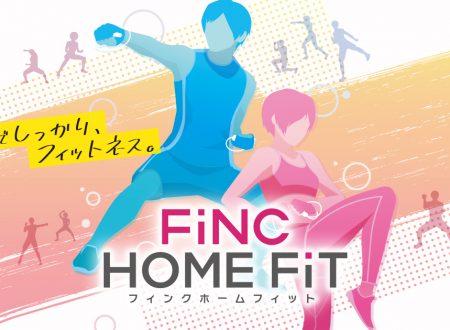 FiNC HOME FiT: il titolo annunciato ed in arrivo il 29 ottobre sui Nintendo Switch giapponesi