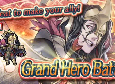 Fire Emblem Heroes: ora disponibile la Grande Battaglia: Festa della falange, atto secondo