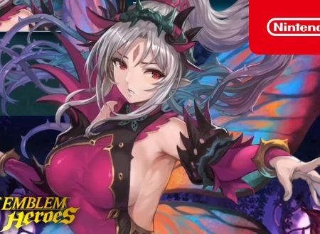 Fire Emblem Heroes: svelato l'arrivo della preferenza evocazione Eroi mitici: Plumeria, la fantasia impura