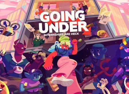 Going Under: il titolo aggiornato alla versione 1.0.2 sui Nintendo Switch europei