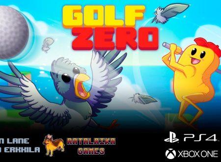 Golf Zero: il titolo in arrivo l'11 settembre sull'eShop di Nintendo Switch