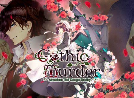 Gothic Murder: Adventure That Changes Destiny, uno sguardo in video al titolo dai Nintendo Switch europei