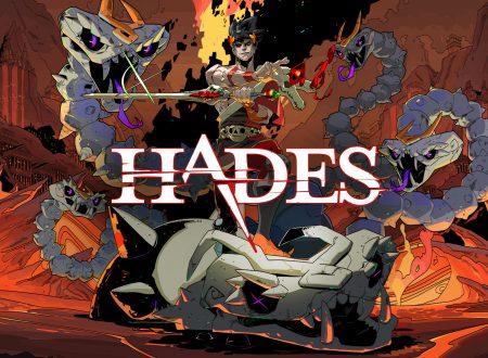 Hades: pubblicato un nuovo aggiornamento, ora disponibile sui Nintendo Switch europei