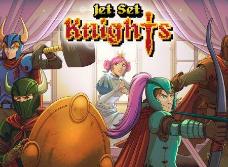 Jet Set Knights: uno sguardo in video al titolo dai Nintendo Switch europei