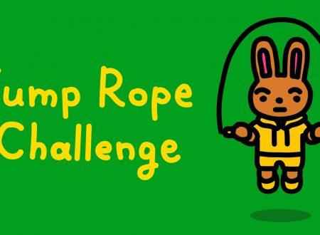Jump Rope Challenge: il titolo aggiornato alla versione 1.2.0 su Nintendo Switch