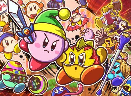 Kirby Fighters 2: pubblicato uno speciale artwork dedicato al lancio del titolo su Nintendo Switch