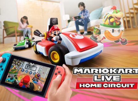 Mario Kart Live: Home Circuit, il titolo in arrivo il 16 ottobre su Nintendo Switch