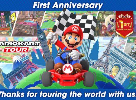 Mario Kart Tour: svelato l'arrivo del Tour dedicato al primo anniversario del titolo mobile