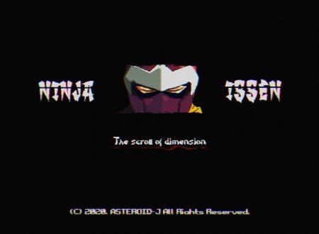 Ninja Issen: il titolo annunciato per l'arrivo nel 2021 su Nintendo Switch