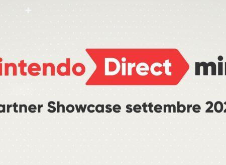 Nintendo Direct Mini: Partner Showcase settembre 2020, svelato l'arrivo della presentazione il 17 settembre