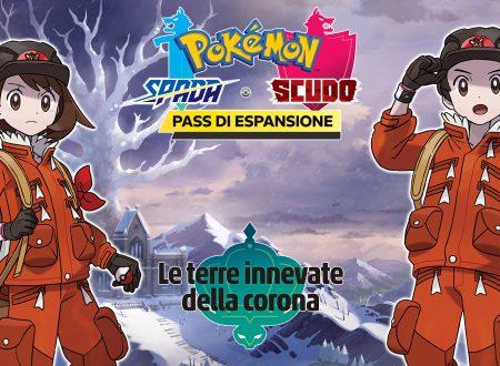 Pokèmon Spada e Scudo: il secondo DLC, Le terre innevate della Corona, in arrivo il 23 ottobre su Nintendo Switch