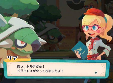 Pokémon Cafe Mix: ora disponibili i nuovi stage evento con Torterra come protagonista