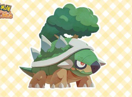 Pokémon Cafe Mix: svelato l'arrivo di nuovi stage evento con Torterra come protagonista