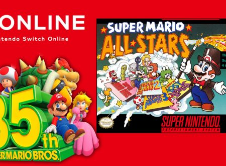 SNES – Nintendo Switch Online: Super Mario All Stars è ora disponibile per il 35° anniversario di Mario