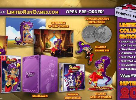 Shantae: Risky's Revenge, svelato l'arrivo di una Limited Edition su Nintendo Switch