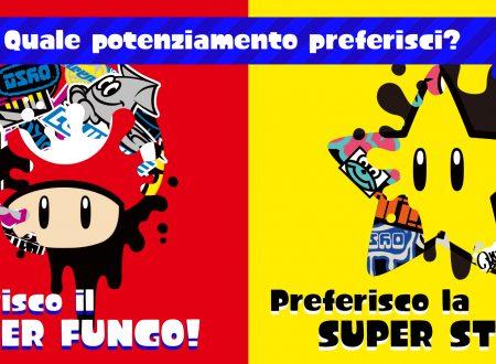 Splatoon 2: svelato un nuovo Splatfest per il Super Mario 35, Preferisco il Super fungo o la Super Stella?