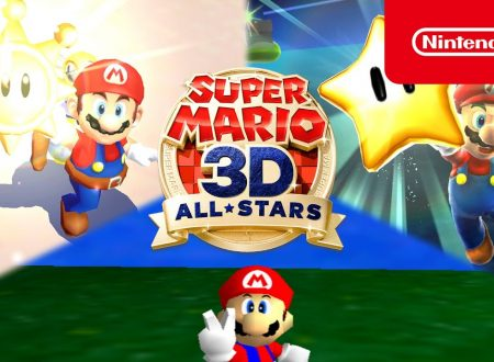 Super Mario 3D All-Stars, la raccolta dei Mario 3D in arrivo il 18 settembre su Nintendo Switch