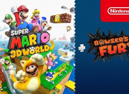 Super Mario 3D World + Bowser's Fury, il titolo in arrivo il 12 febbraio su Nintendo Switch