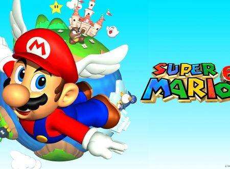 Super Mario 64: uno sguardo in video al classico Nintendo 64 in Super Mario 3D All-Stars sui Nintendo Switch europei