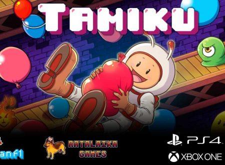 Tamiku: il titolo in arrivo il 18 settembre sull'eShop di Nintendo Switch