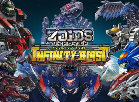Zoids Wild: Infinity Blast, uno sguardo in video alla demo dai Nintendo Switch giapponesi