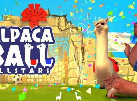 Alpaca Ball: Allstars, uno sguardo in video gameplay al titolo dai Nintendo Switch europei