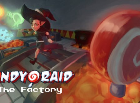 Candy Raid: The Factory, uno sguardo in video gameplay al titolo dai Nintendo Switch europei