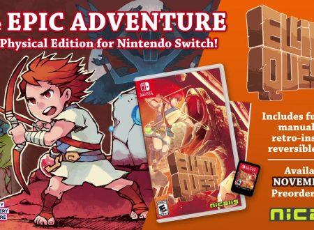 Elliot Quest: Nicalis annuncia una versione retail del titolo per Nintendo Switch
